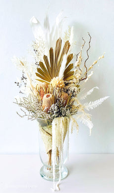 Audrey | Dried Flower Bouquet - Magnolia Lane