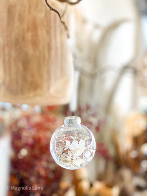 Christmas Baubles -Dried Flower Bar - Magnolia Lane