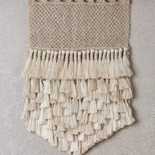 Load image into Gallery viewer, Tassel Wall Hanging | Natural - The Dharma Door - Magnolia Lane