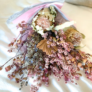 Native Dried Flower Bouquet | Pink - Magnolia Lane