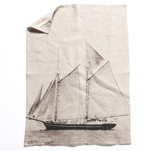 Schooner Tea Towel - Magnolia Lane