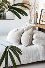 Load image into Gallery viewer, Linen Quilt Set | White - Eadie Lifestyle - Magnolia Lane