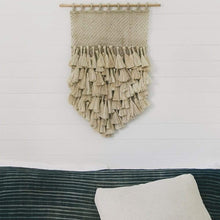 Load image into Gallery viewer, Tassel Wall Hanging | Natural