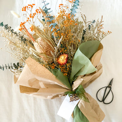 Country Summer | Dried Flower Bouquet - Magnolia Lane