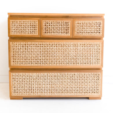 Rattan Chest Of Drawers | 5D - Magnolia Lane