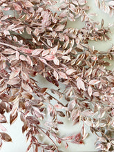 Load image into Gallery viewer, Preserved Ruscus | Matte Dusty Pink/Marble White - Dried + Preserved Plants - Magnolia Lane