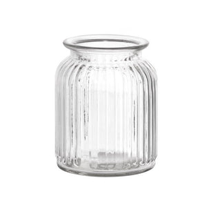 Hurricane Glass Jar Clear | Medium - Magnolia Lane