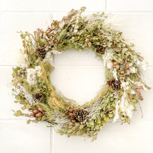 Load image into Gallery viewer, Bush Christmas Wreath - Magnolia Lane