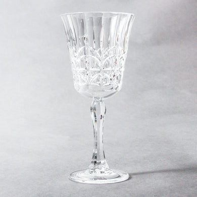 Pavilion Acrylic Wine Glass S2 | Clear - Indigo Love Collectors - Magnolia Lane