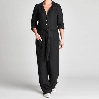 Jumpsuit | Black - Magnolia Lane