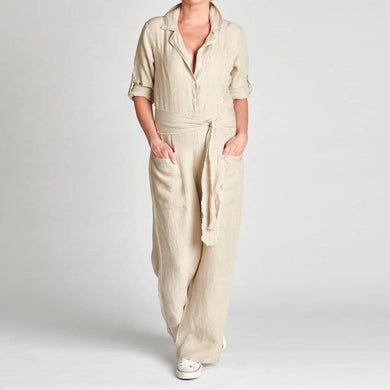 Jumpsuit | Natural - Magnolia Lane