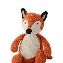Knitted Fox Orange - Magnolia Lane