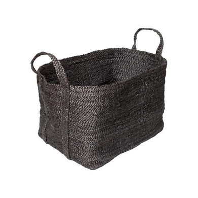 Large Jute Basket | Charcoal - Magnolia Lane