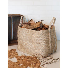 Load image into Gallery viewer, Large Jute Basket | Natural - Magnolia Lane