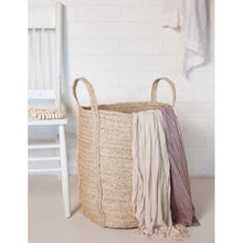 Load image into Gallery viewer, Laundry Jute Basket - Charcoal by The Dharma Door - Magnolia Lane