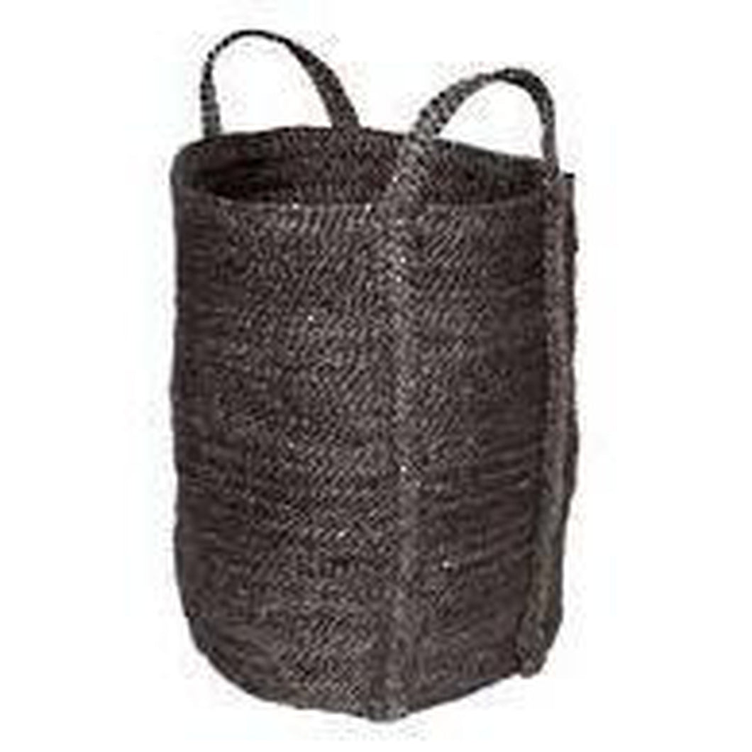 Laundry Jute Basket - Charcoal by The Dharma Door - Magnolia Lane