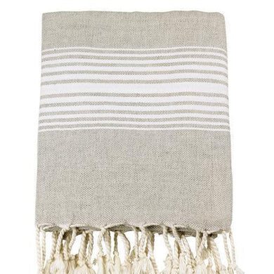 Linen Turkish Towels - Bath Towel / White - Magnolia Lane