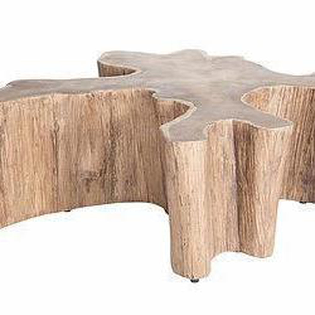 Log Coffee Table by Uniqwa-Uniqwa Furniture-Magnolia Lane