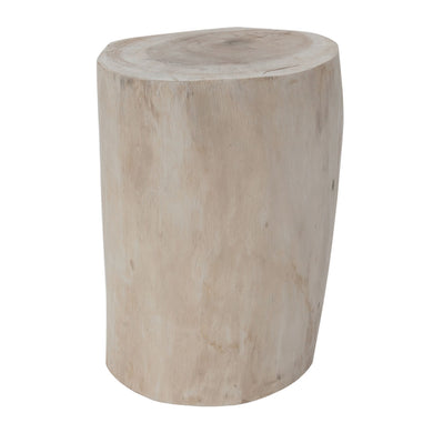 Log Stool|Natural by Uniqwa - Magnolia Lane