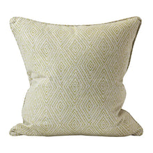 Load image into Gallery viewer, Madras pista linen cushion 50x50cm by Walter.g - Magnolia Lane