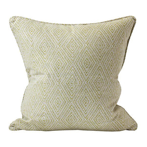 Madras pista linen cushion 50x50cm by Walter.g - Magnolia Lane