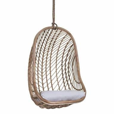 Makeba Hanging Chair | Natural - Magnolia Lane