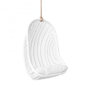 Makeba Hanging Chair | White by Uniqwa Furniture-Uniqwa Furniture-Magnolia Lane