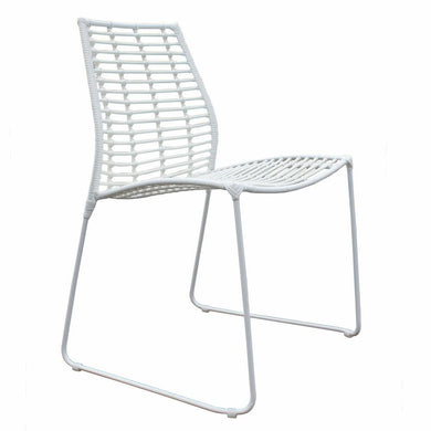Makeni Dining Chair | White by Uniqwa Furniture - Magnolia Lane