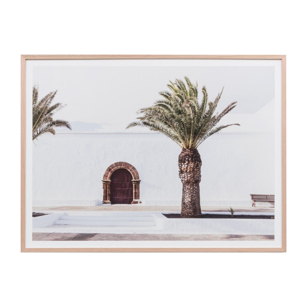 Middle of Nowhere - Spanish Door Framed Print - Magnolia Lane