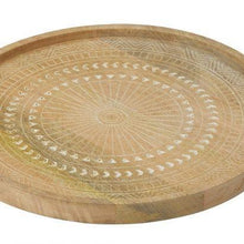 Load image into Gallery viewer, Ojai Mango Wood Etched Serving Tray - Magnolia Lane
