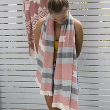 Load image into Gallery viewer, Oteki Inca Knotty Turkish Towel - Clay - Magnolia Lane