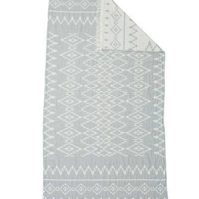 Oteki Kilim Knotty - MAXI - Grey - Magnolia Lane