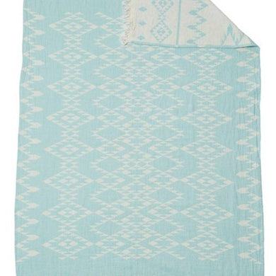 Oteki Kilim Knotty Turkish Towel - Mint - Magnolia Lane