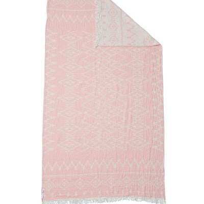 Oteki Kilim Knotty Turkish Towel - Rose Quartz - Magnolia Lane