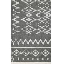 Load image into Gallery viewer, Oteki Knotty Kilim - Std\Charcoal - Magnolia Lane