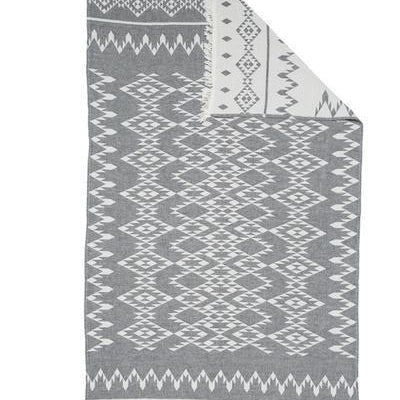 Oteki Knotty Kilim - Std\Charcoal - Magnolia Lane