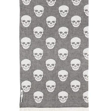 Load image into Gallery viewer, Oteki Knotty Skull -  Charcoal - Magnolia Lane