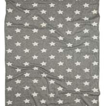 Load image into Gallery viewer, Oteki Knotty Turkish Towel - Star Charcoal - Magnolia Lane