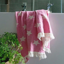 Load image into Gallery viewer, Oteki Knotty Turkish Towel - Star Pink - Magnolia Lane