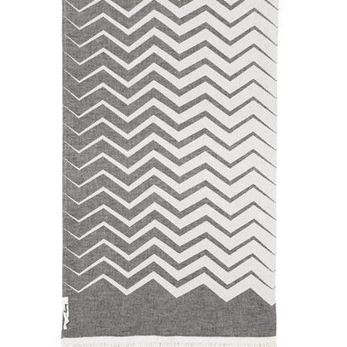 Oteki Knotty Zig Zag - Std\Charcoal - Magnolia Lane