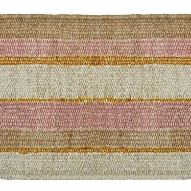 Peachy Stripe Doormat-Langdon Ltd-Magnolia Lane