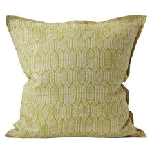 Load image into Gallery viewer, Pomelo Pista linen cushion 50x50cm by Walter.g - Magnolia Lane