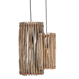 Primitive Pendant Light\Small by Uniqwa-Uniqwa Furniture-Magnolia Lane