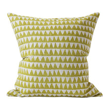 Load image into Gallery viewer, Pyramids Pista linen cushion 50x50cm by Walter.g - Magnolia Lane