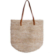 Load image into Gallery viewer, Rafia Tote Natural - Magnolia Lane