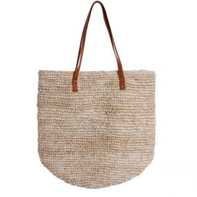 Rafia Tote Natural - Magnolia Lane
