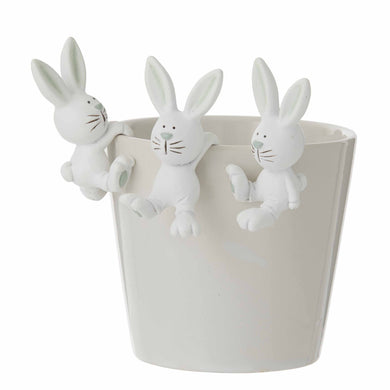 Richie Rabbit Hanging Ornament 2 Assorted - Magnolia Lane