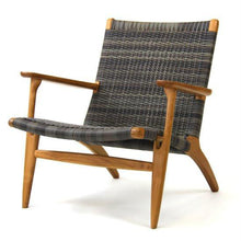 Load image into Gallery viewer, Roxanne Lounge Chair (Irish Coffee & Whitewash) - Magnolia Lane