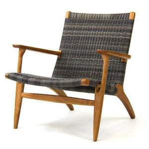 Roxanne Lounge Chair (Irish Coffee & Whitewash) - Magnolia Lane