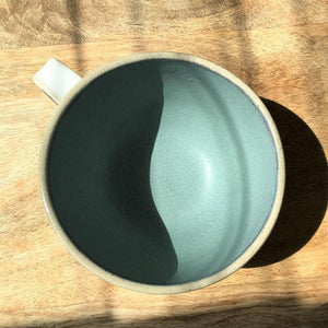 Sea Frost Cup - Hand Carved Tea Cup - Magnolia Lane